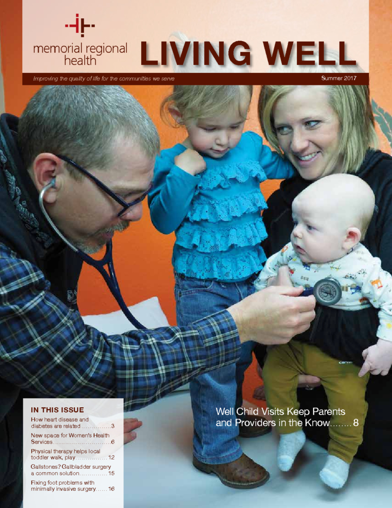 Advance physical therapy magazine - Living Well Magazine Summer 2017 Volume 11