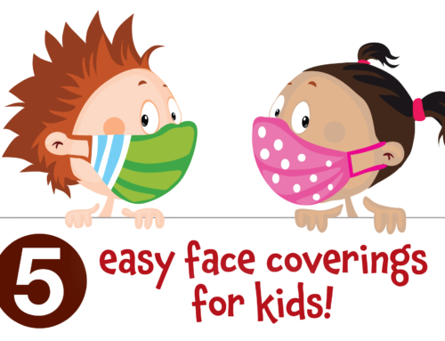 5 easy face coverings for kids