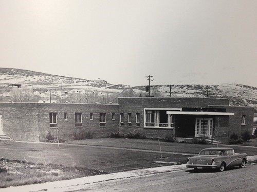 The Original Memorial Hospital built in 1949